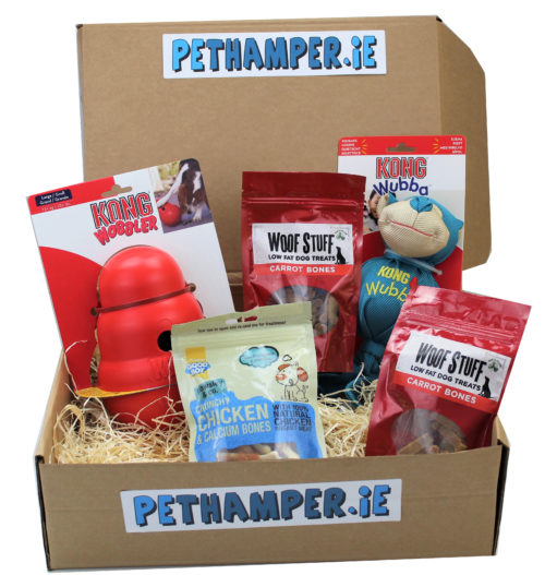 Pethamper.ie Treat and toy May Box